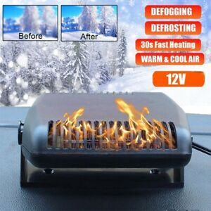 12v 2 In 1 Car Truck Heater Heating Cool Fan Dryer Windscreen Demister Defroster