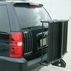Great Day Hitch n ride Folding Ramp Up Hitch Cargo Carrier For 2 Receivers
