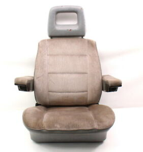 Lh Front Grey Bucket Seat Captains Chair 80 91 Vw Vanagon T3 Transporter