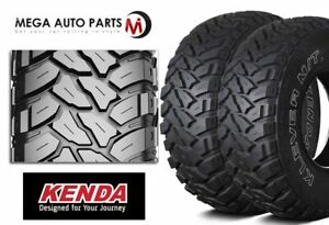 2 Kenda Klever M t Kr29 255 75r17 111 108q 6 ply Owl Off road Truck Mud Tires