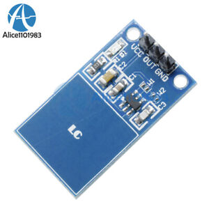 Ttp223 Capacitive Touch Switch Digital Touch Sensor Module For Arduino Diy