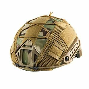 OneTigris Tactical Multicam Helmet Cover For XL Ops Core FAST PJ Airsoft Helmets $25.27