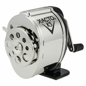 X acto Ks Manual Classroom Pencil Sharpener Counter Wall mount New