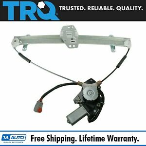 Trq Front Power Window Regulator W Motor Driver Side Left Lh For 03 11 Element