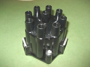 New 2 Window Dual Point Distributor Cap For V 8 Delco Remy Dist Chev Chevy