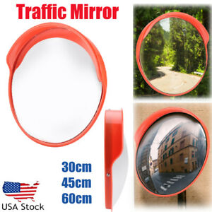 12 18 24 2 Type Outdoor Traffic Security Convex Pc Mirror Driveway Blind Spot