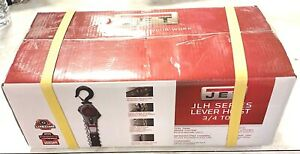 Jet Jlh Series 3 4 Tonlever Hoist 5 Foot Lift With Overhead Protection 376100