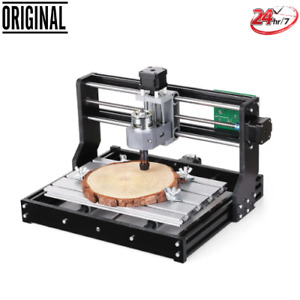 Pro 3 Axis Mini Diy Cnc Router Adjustable Speed Spindle Wood Engraving Machine