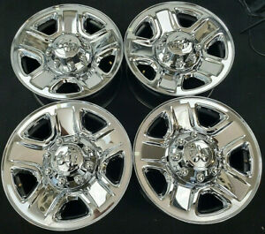 Dodge Ram 2500 3500 Factory Original Oem 18 Inch Chrome Wheels Rims 2473