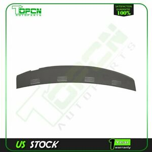 New Molded Dash Cover Cap Overlay For 2002 2005 Dodge Ram 1500 2500 Grey