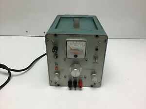 Power Designs 3650 s Dc Power Supply 0 36v 0 5a Load Tested