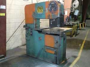 Doall 36 Vertical Band Saw