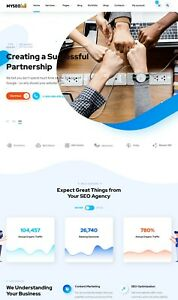 Seo Agency And Marketing Business Website Installation Make 100 Profit