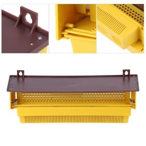 Removable Plastic Pollen Trap With Ventilated Pollen Tray For Beekeeping