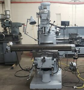 Bridgeport Series Ii Special Milling Machine With 2j Head Dro And X axis Power