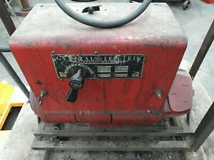 General Electric 6wd3150c1 Aircraft Welder Arc Stick 220v 3 phase 20 150a