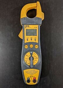 Ideal 61 702 Clamp Meter 200 Amp Tested Cleaned Sanitized