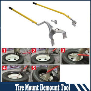 Practical Tire Changer Tire Mount Demount Tools Tool Tubeless Truck 17 5 To 24