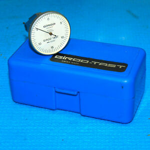 Swiss Made Girod Tast 0005 Vertical Dial Test Indicator Tested Accurate