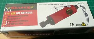 Air Powered Straight Die Grinder By Neilsen Tools 1 4 6 Mm Free Air Connector