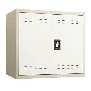 Safco 27 h Steel Storage Wall Cabinet In Tan Finish 5530tn