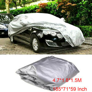 Waterproof Full Cover In Outdoor Dust Uv Ray Rain Snow Only Fit For Small Car Us