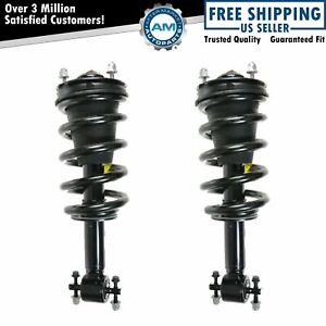 Monroe Front Quick Shock Strut Spring Pair Set For Gmc Chevy Pickup Truck