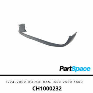 New Gray Textured Front Bumper Cover Face For 1994 2002 Dodge Ram 1500 2500 3500