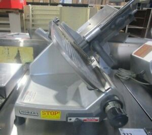 Hobart 2812 12 Meat Deli Cheese Slicer Manual Commercial