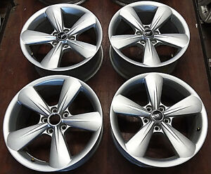 2005 2018 Ford Mustang Factory Original Oem 18 Inch Alloy Wheels Rims 3907