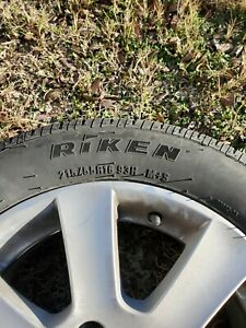 Borbet Wheels And Tires 5x114 Set Of 4