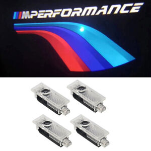 4pcs Led Courtesy Door Performance Logo Light Shadow Laser Projector For New Bmw