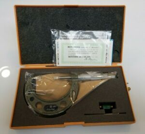 Brand New Original Mitutoyo Blade Micrometer Model 122 126