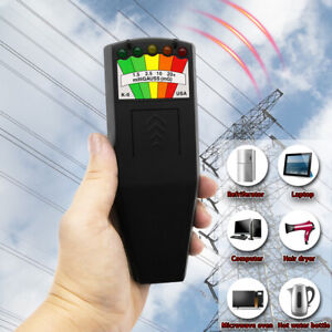 Usa Led Emf Meter Magnetic Field Detector Hunting Paranormal Equipment Tool