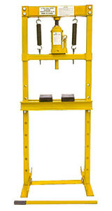 Jegs 81637 Hydraulic Shop Press 20 ton Floor Mount Working Range Up To 30 3 4 I