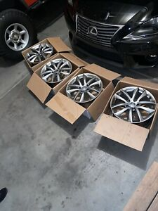 Wheels Rims Set Of 4 Infiniti G35x G37 17 Oem Factory
