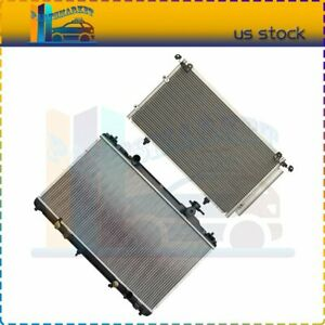 3113 2436 Ac Condenser radiator Assembly For 2002 2006 Toyota Camry 2 4l
