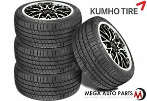 4 X Kumho Ecsta Pa51 205 45r17 88v Xl Uhp Performance All Season 45k Mile Tires