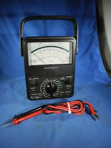 Micronta 22 210 Electrical Multimeter W Leads Radio Shack Vgc nice