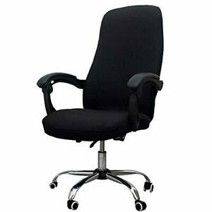 Melaluxe Office Chair Cover Universal Stretch Desk Cover Black New
