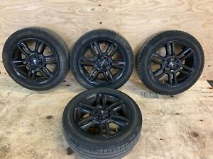 2012 Mini Cooper Hardtop S Wheels With Tires Set Oem