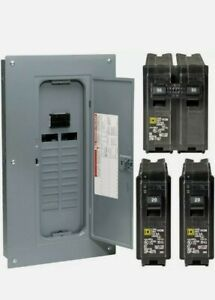 Square D 100 Amp Main Breaker 40 Circuit 20 Spaces Breakers Single Phase