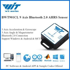 Bluetooth 2 0 Bwt901cl 9 Axis Sensor 200hz Angle acceleration gyro magnetometer