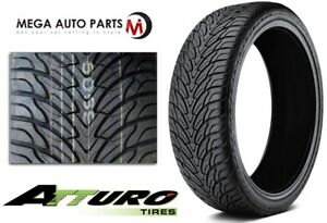 1 Atturo Az800 295 40r24l All Season Ultra High Performance Suv Truck Tires