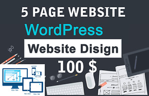 Responsive Wordpress Website Web Design Web Domain And Hosting Included