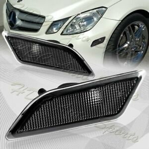 For 2010 2013 Mercedes W212 E class Clear Lens Turn Signal Side Marker Lights