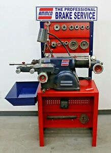 Nice Ammco 4000b Disc Drum Brake Lathe W Bench And Adapter Kit