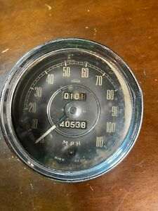 British Jaeger Speedometer Odometer Sn 6116 00 1152 Made In England