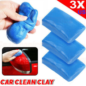 3x Clay Detailing Magic Truck Cleaning Sludge Auto Bar Car Wash Mud Cleaner Kits