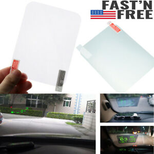 Universal Car Hud Reflective Film 5 9 X4 9 For Head Up Display Windshield G1h5